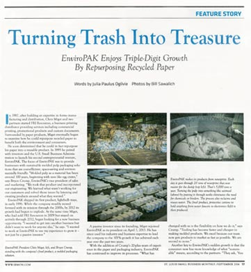 EnviroPAK - Turning Trash into Treasure