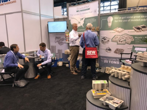 EnviroPAK'sPACK EXPO team engaged with inquiries